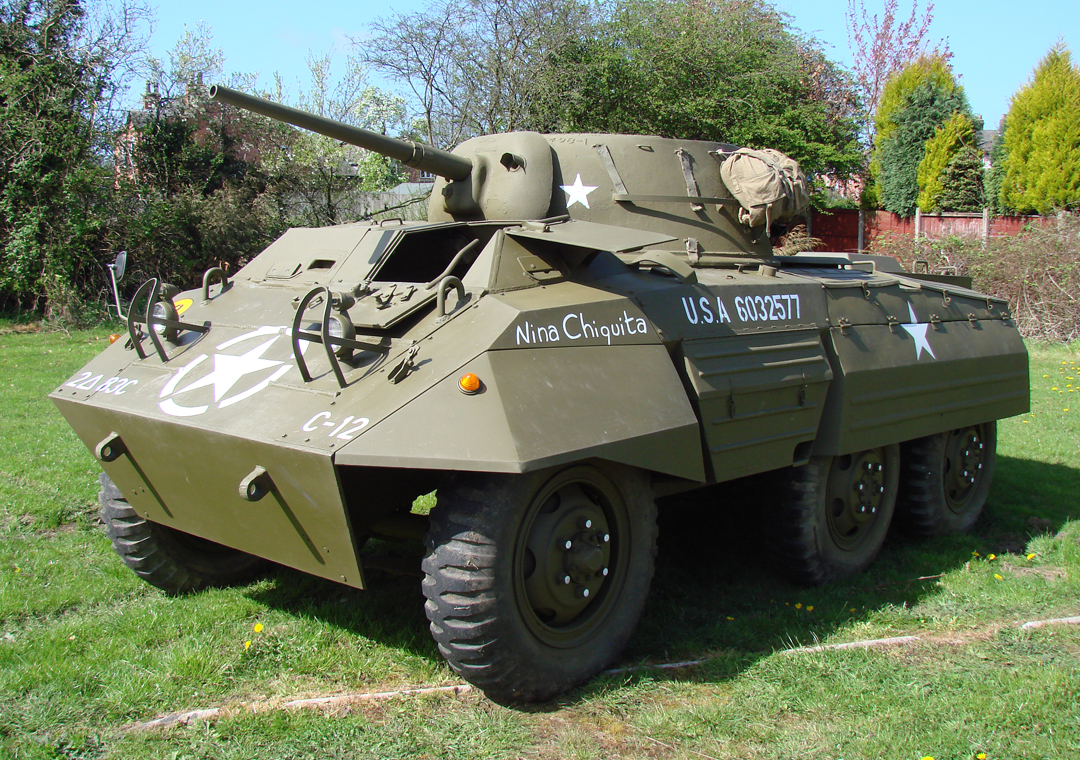 M8 Greyhound for sale actual photo of vehicle