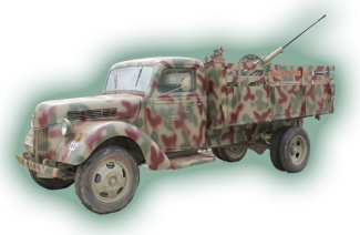 Ford V3000s German WW2 Truck